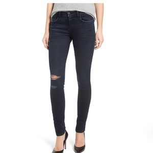 Piper distressed skinny jeans.